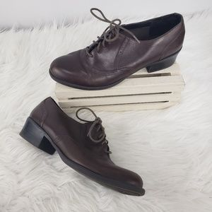 Naturalizer Kayla Brown Leather Shoes 8